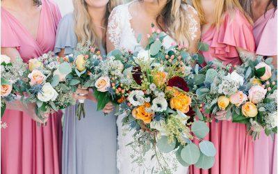 A Floral Autumn Wedding