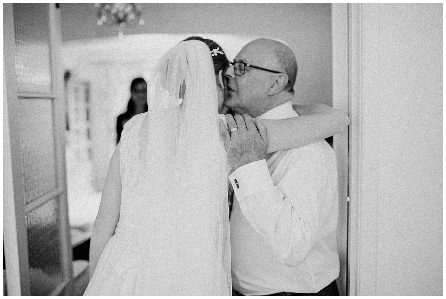 bride,east horton wedding,father of the bride,first look,hampshire wedding photographer,winchester wedding photographer,