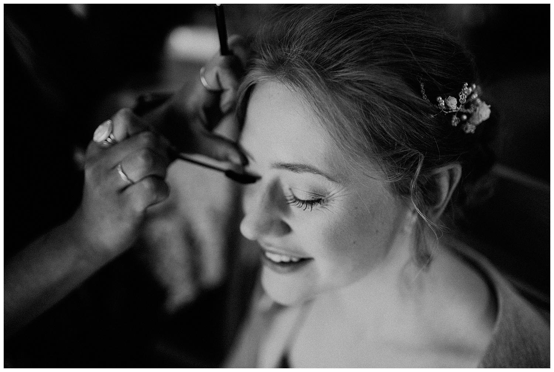 bridal makeup,bride,east horton wedding,getting ready,hampshire wedding photographer,wedding,winchester wedding photographer,