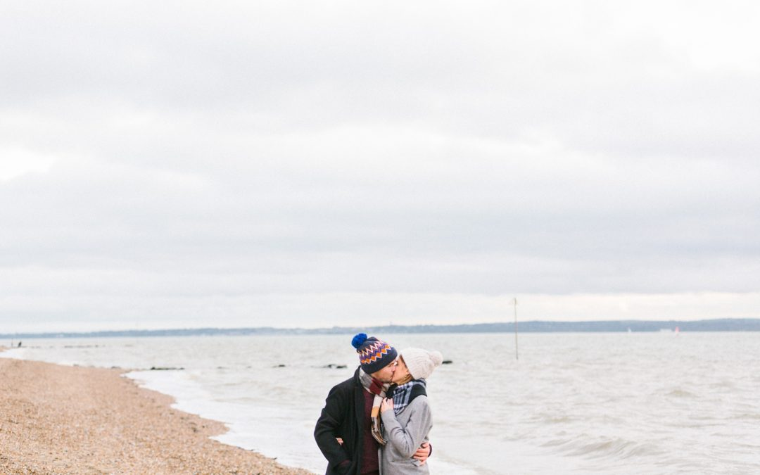 Lee on Solent Proposal | Hampshire Engagement Shoot